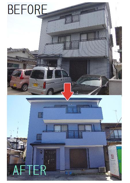外壁/屋根塗装・水廻りリフォーム(before_after)